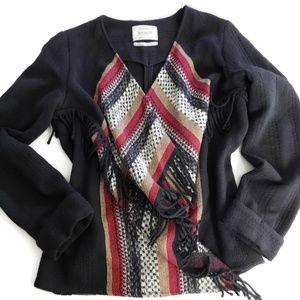 Bershka Outerwear Collection Cardigan Womens Sz M